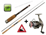 Prut LXR Spin 7ft (2,1m)  5-25g + naviják zdarma! - Giants fishing