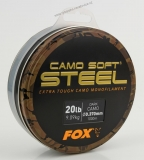 Fox Vlasec Dark Camo Soft Steel 1000m - 0,30mm - 13lb/5.9kg