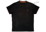 TRIČKO FOX BLACK AND ORANGE T-SHIRT - XXXL