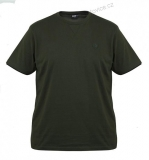 TRIČKO FOX GREEN & BLACK - M - BRUSHED COTTON T-SHIRT