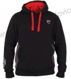 MIKINA FOX RAGE RIBBED HOODY BLACK/GREY - XL