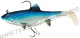 FOX RAGE REPLICANT WOBBLE 14CM - Blue 55g Shiner - GUMOVÁ NÁSTRAHA