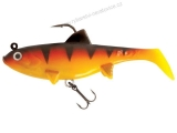 FOX RAGE REPLICANT WOBBLE 14CM - 55g Hot Tiger - GUMOVÁ NÁSTRAHA