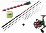 Prut CLX Feeder TR 11ft Medium + naviják zdarma!