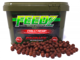 Boilies Feedz 14 mm 4 kg - CHILLI HEMP - Starbaits