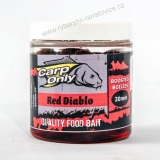 Carp Only Dipovaný Boilies Red Diablo 250ml 20mm