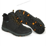 Fox Boty Collection Black & Orange Mid Boots - 12/46