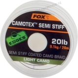 Fox Návazcová Šňůrka Camotex Light Semi Stiff 20m - 35lb