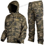 Prologic Nepromokavý komplet Bank Bound 3-Season Camo Set - L