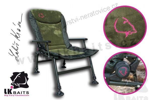 LK Baits Camo Arm Chair