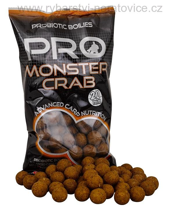 Pro Monster Crab - Boilie potápivé 1kg 14mm Starbaits