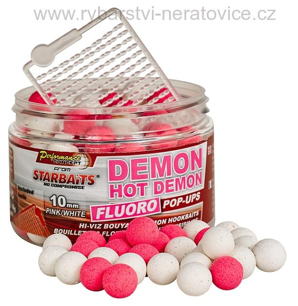 Hot Demon - Boilie FLUO plovoucí 80g 14mm Starbaits