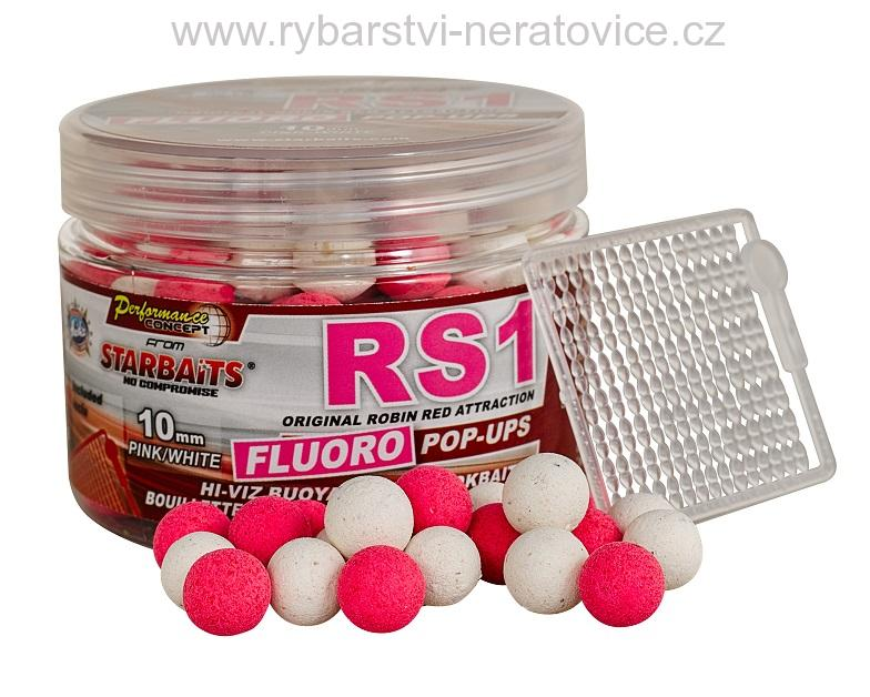 RS1 - Boilie FLUO plovoucí 80g 14mm Starbaits