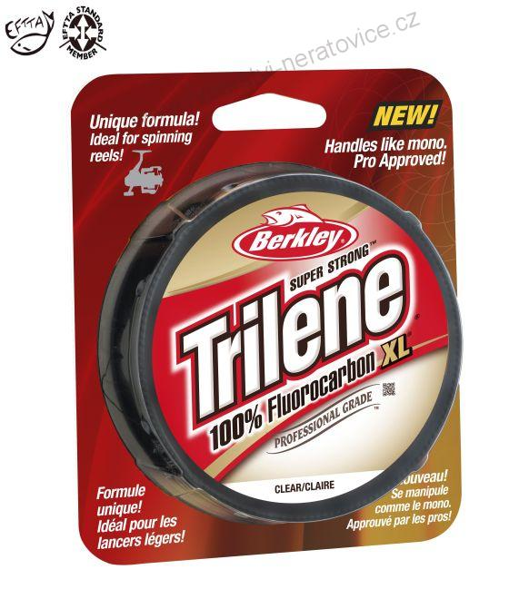 TRILENE XL - 0,45mm  FLUOROCARBON - 50M  CLEAR BERKLEY  - 14.034 kg