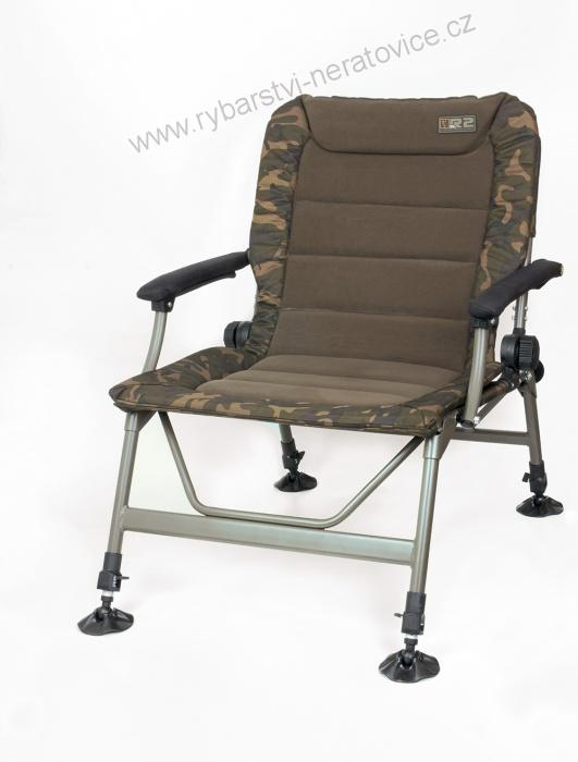 KŘESLO FOX R2 CAMO CHAIR