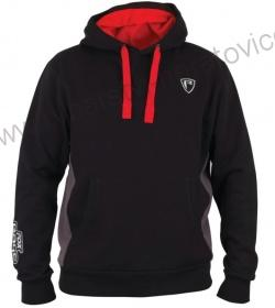MIKINA FOX RAGE RIBBED HOODY BLACK/GREY - L