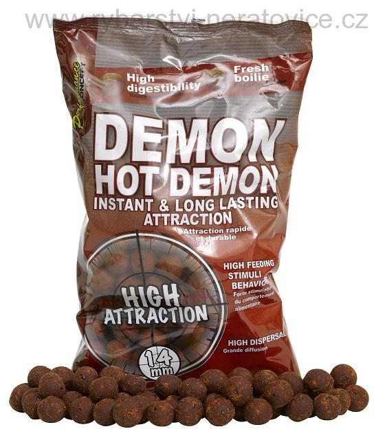 Hot Demon - Boilie potápivé 1kg 14mm STARBAITS
