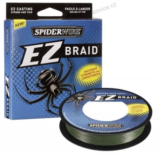 SPIDER EZ BRAID 0,12MM 100M ZELENÁ SPIDERWIRE