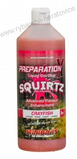 Booster PREP X SQUIRTZ CRAYFISH 1L Starbaits
