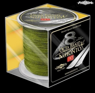 BRAIDED LINE NIHONTO OCTA BRAID 050 - 53,30kg - 300m GREEN 300M