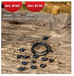 Extra Carp Pop-Up Weights - 1g - 10ks