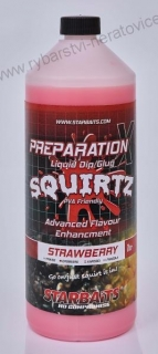 Booster PREP X SQUIRTZ STRAWBERRY 1L Starbaits