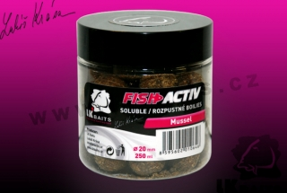 Fish Activ Mussel 250ml, 20mm