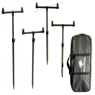 SADA HRAZD S TYČEMI BUZZER BAR SET - GIANTS FISHING