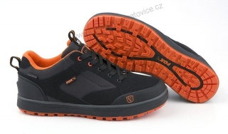 BOTY FOX BLACK & ORANGE TRAINERS 8/42