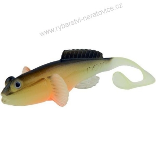 Fox Rage  Grondle Twist Hot Olive 10 cm 4 ks - Gumová nástraha