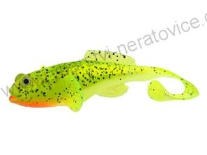 Fox Rage Grondle Twist Lemon tiger 10 cm 4 ks - Gumová nástraha