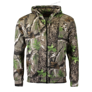 Mikina Zip Game Trek camo - L