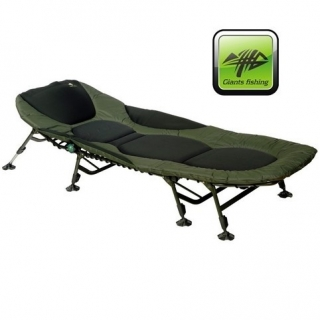 Lehátko FLX Plus 8Leg Bedchair - Giants fishing