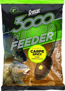 3000 Method Feeder 1 kg - Carpe Spicy - Sensas