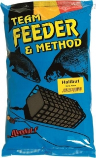 Method & Feeder HALIBUT 1kg Mondial F