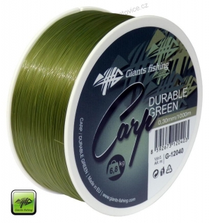 Vlasec Carp Durable Green 0,30mm/1000m  Giants Fishing