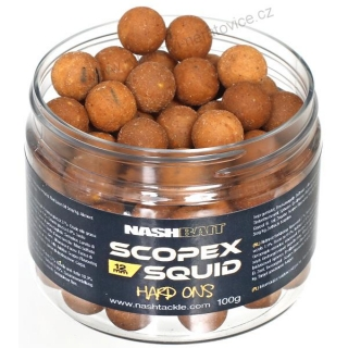 Nash Boilies 15mm 125g Scopex & Squid Hard-Ons Tvrdé