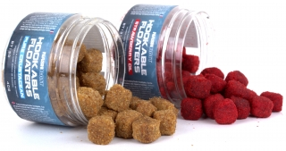 Nash Chytací pelety STRAWBERRY OIL Hookable Floaters 40 g