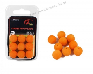 Zfish Pěnová Nástraha 15mm Foam Pop up Baits Orange