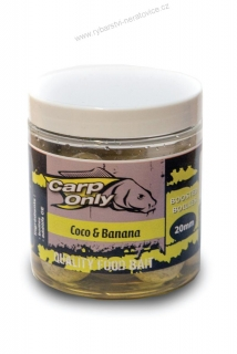 Carp Only Dipovaný Boilies Coco-Banana 250ml 20mm