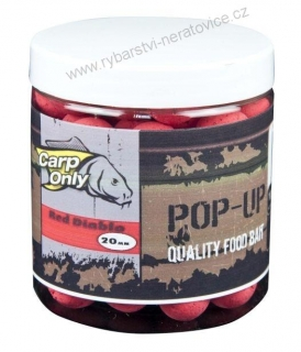 Carp Only pop up boilie Red Diablo 80g 16mm