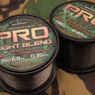 Gardner Vlasec 0,28mm 10lb 4,5kg 1540m Pro XM Light Blend
