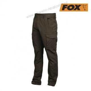 Fox Kalhoty Green & Black Lightweight Combats XL
