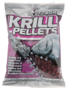 Pelety Krill Pre-Drilled 900g/20mm s dírou Bait-Tech
