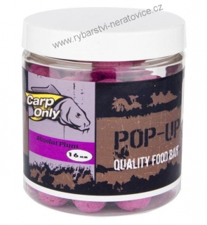 Carp Only pop up boilie Absolut Plum 80g 20mm