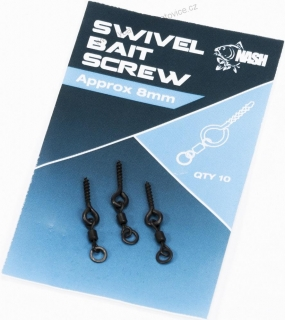 Nash Držák Nástrahy Swivel Bait Screw 8 mm