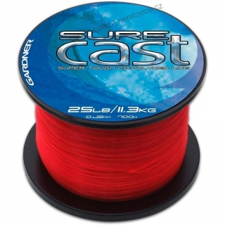 Vlasec Sure Cast Red Gardner 1400m/0,30mm (12lb)