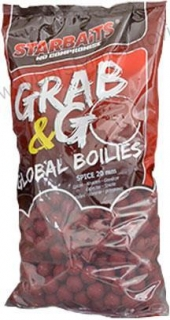Global boilies 2,5kg STRAWBERRY JAM 20mm Starbaits