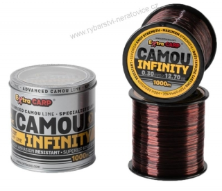 Extra Carp Vlasec Infinity Camou 1000m - 0,30mm - 12,7kg