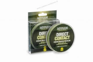 DirectContact Sinking braid 0,18mm 600m - 25lb - green